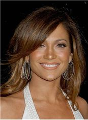2015 New Short Wavy Indian Remy Hair Wigs