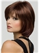 Pretty Short Wavy Brown True Human Hair Wigs