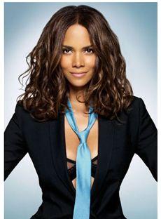 100% Full Lace Human Hair Sepia Medium Wigs 14 Inch (35.36 cm)