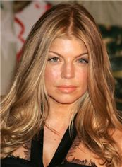 Full Lace 100% Human Hair Brown Medium Wigs