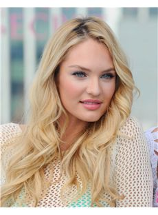 Dynamic Feeling from Long Blonde Full Lace Celebrity Hairstyle