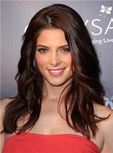 Outstanding Medium Sepia Full Lace Celebrity Hairstyle