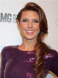 Wonderful Long Sepia Full Lace Celebrity Hairstyle