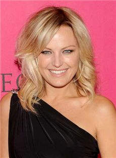 Cheap Medium Blonde Full Lace Celebrity Hairstyle