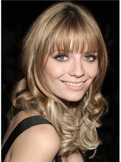 Noble Medium Blonde Female Celebrity Hairstyle
