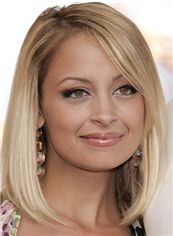 Top-rated Medium Blonde Full Lace Celebrity Hairstyle