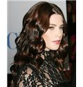 Hot Medium Sepia Full Lace Celebrity Hairstyle