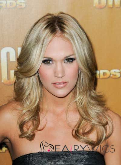 Sparkling Blonde Full Lace Remy Hair Wigs for Women