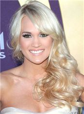 Hot Blonde Capless Remy Hair Wigs for Women