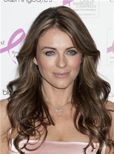 Faddish Sepia Full Lace Remy Hair Wigs for Women