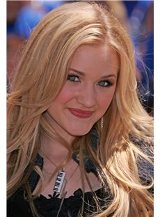 Natural Blonde Full Lace Remy Hair Wigs for Women