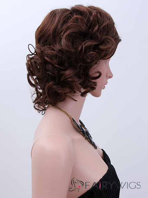 Prevailing Brown Full Lace Remy Hair Wigs for Women