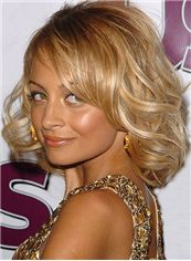 Lustrous Blonde Full Lace Remy Hair Wigs for Women