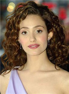 Ancient Medium Wavy Sepia African American Lace Front Wigs for Women