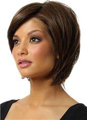 Best Cheap Human Hair Black Short Wigs