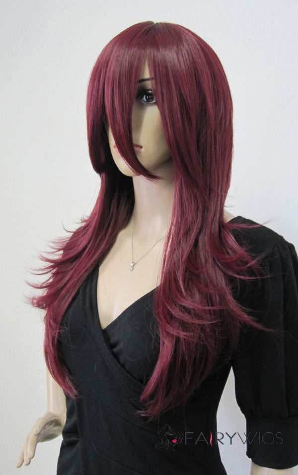 Cheap Red Costume Wigs 115