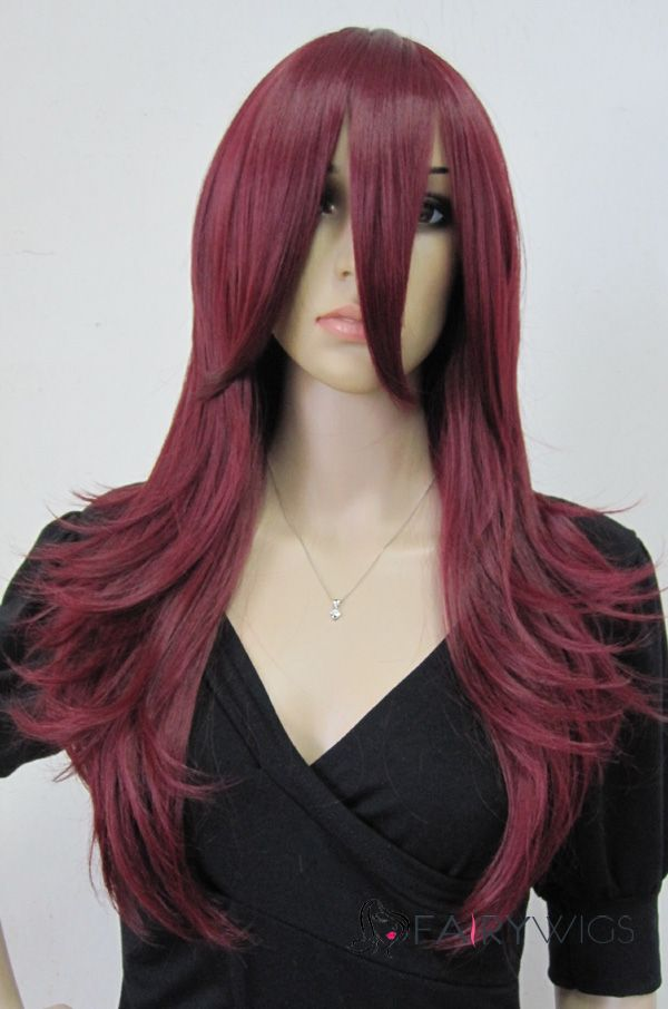 Cheap Red Costume Wigs 88