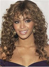 Stunning Medium Sepia Virgin Brazilian Hair Wigs for Black Women