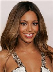 Lustrous Medium Sepia Lace Front 100% Indian Remy Hair Wigs for Black