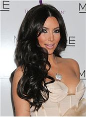 Quality Wigs Long Black Lace Front High Heated Wigs for Black Women