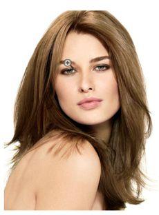 Full Lace 2015 New Medium Wavy Sepia Remy Wigs