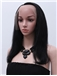 Online Medium Straight Brown African American Full Lace Wigs for Women