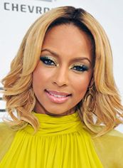 Sparkling Short Wavy Blonde African American Lace Front Wigs for Women