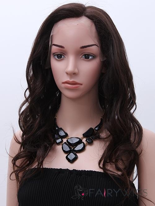 Multi-function Medium Wavy Black African American Wigs for Women