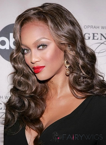 Best Long Wavy Brown African American Lace Front Wigs for Women