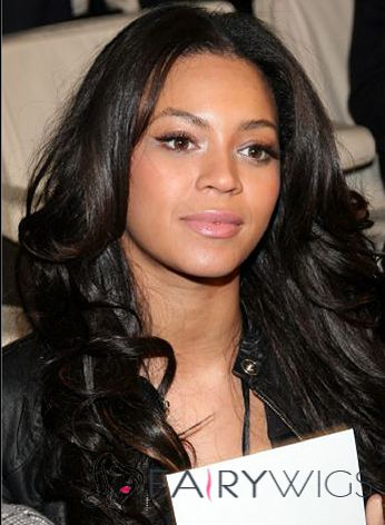 Custom Long Wavy Black African American Full Lace Wigs for Women
