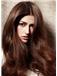 100% Human Hair Brown Long Online Wigs 22 Inch