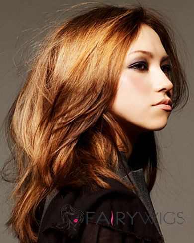 Prevailing Full Lace Medium Wavy Blonde Remy Hair Wig