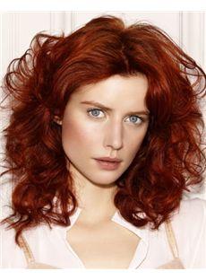 Cheap Red Human Hair Wigs
