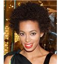 Brown Short Lace Front Curly 8 Inch Wigs for Black Women