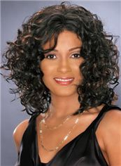Lovely Short Curly  African American Wigs for Women