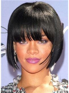 Wigs For Sale Short Straight Black African American Wigs for Women