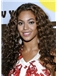 2015 Cool Long Wavy Brown African American Lace Wigs for Women