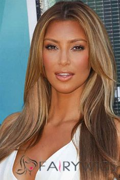 Virgin Brazilian Hair Blonde Long Lastest Trend Wigs 20 Inch