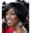 Gorgeous Short Straight Sepia African American Wigs for Women 10 Inch