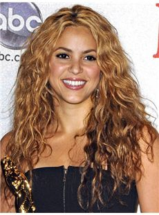 Concise Medium Wavy Blonde African American Lace Wigs for Women