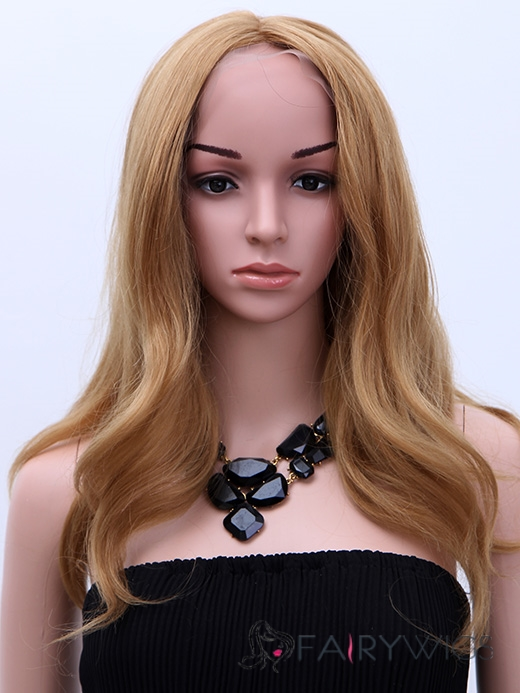 Wig Online Long Wavy Sepia African American Lace Wigs for Women
