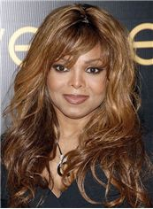 Online Wigs Medium Wavy Brown African American Wigs