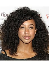 New Style Medium Curly  African American Lace Wigs for Women