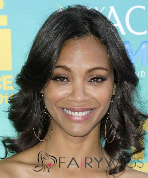 Unique Medium Wavy Sepia African American Lace Wigs for Women