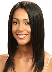 Lastest Trend Medium Straight Sepia African American Lace Wigs for