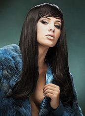 Dynamic Feeling from Long Wavy Black African American Wigs for Women 20 Inch