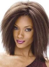 Afro American Wigs Short Kinky Brown African American Lace Wigs for