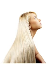 Grand Long Straight Blonde Side Bang African American Lace Wigs for