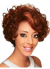 Cheap Front Lace Synthetic Wigs