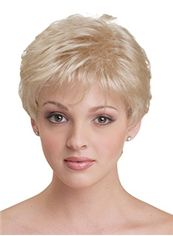 Dynamic Feeling from Short Straight Blonde African American Wigs for